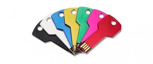 Memoria usb llave colores personalizable