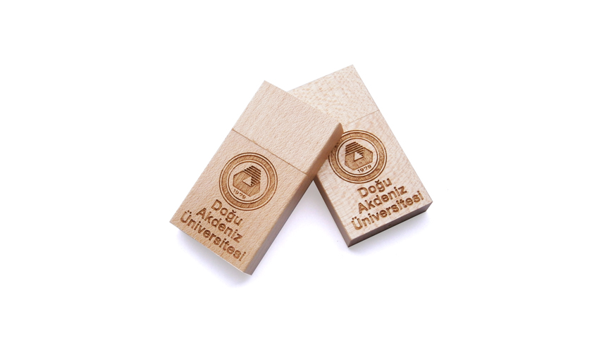Memoria USB de madera personalizada Bamboo