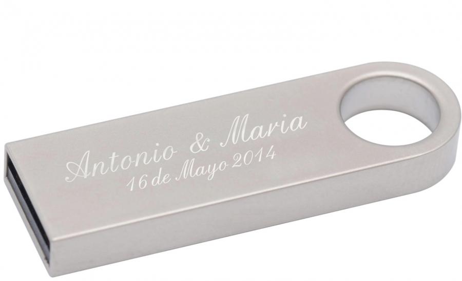 Pendrive personalizado para bodas