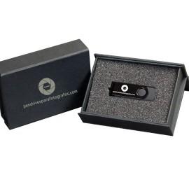 Caja de carton con cierre imantado personalizado