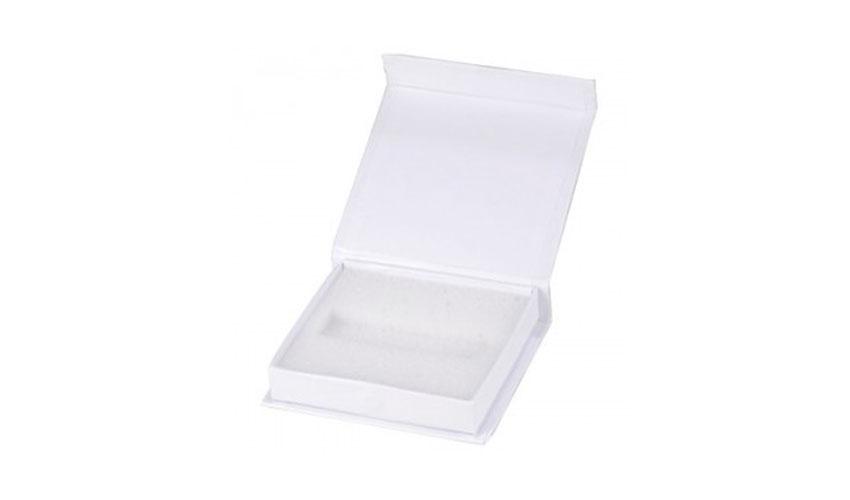 Caja cartón forrada con solapa imantada personalizada para Memoria USB