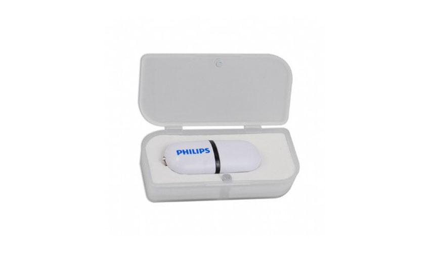 Caja plástico personalizada para Memoria USB cierre imán
