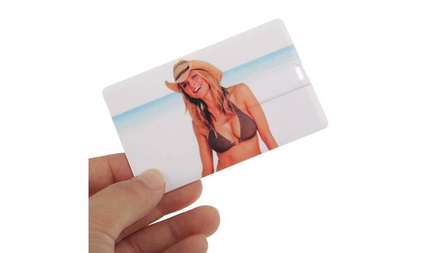 Memoria USB personalizada Credit Card