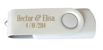 Detalle de boda USB