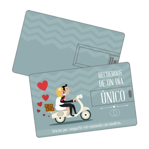 Memoria USB Credit Card