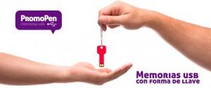 Memorias usb con forma de llave