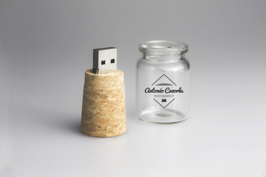 Memoria USB personalizada Secret