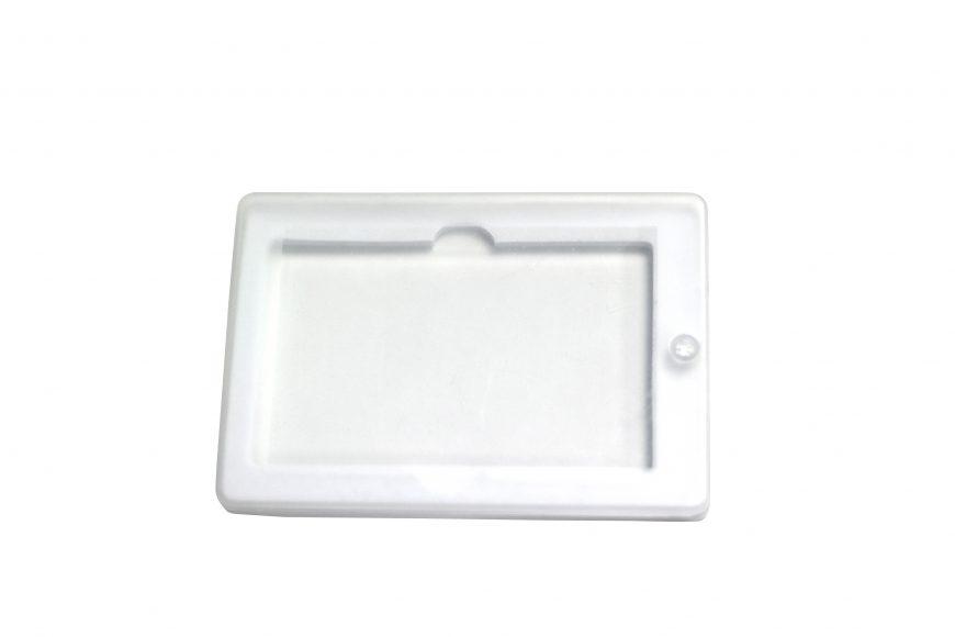 Caja transparente para Memoria USB