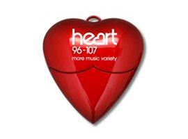 Pendrive heart