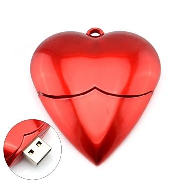 Memoria USB personalizada Heart