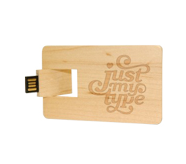 pendrive woodcard