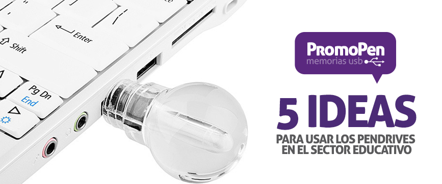 ideas de pendrive para sector educativo