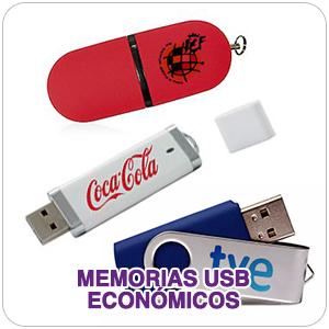 Memorias usb Económicas