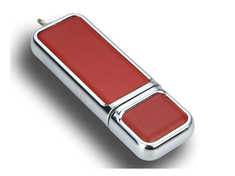 Memoria USB de cuero personalizada Chester